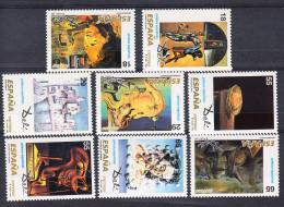 ESPAÑA 1994 Nº EDIFIL Nº 3289/3296.PINTORES.SALVADOR DALI .NUEVA SIN CHARNELA.SES575 - 1931-Hoy: 2ª República - ... Juan Carlos I