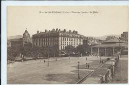 Saint Étienne-Place Des Ursules-La Halle-(SÉPIA). - Saint Etienne