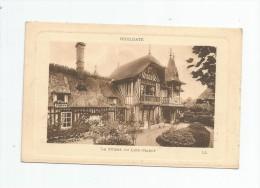 Cp , 14 , .HOULGATE , La Ferme Du LIEU-MAROT , Voyagée 1910 , LL. - Houlgate