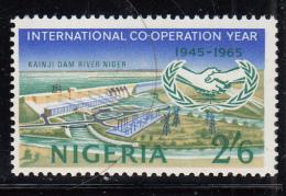 Nigeria MH Scott #180 2sh6p Kainji Dam, Niger River - International Co-operation Year, 20th Anniversary UN - Nigeria (1961-...)