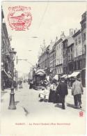 *NANCY (54) – Le Point Central (Rue Saint-Jean). Tramway. Tampon Sels De La Mouette*. Animée - Nancy
