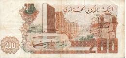200 DINAR - ALGERIE - 1983 - - Argelia
