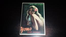 C-27584 YOMO PREZZA DELLA CARNAGIONE YOGURT PINUP PIN UP PUBBLICITA - Advertising