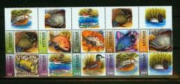 Ned Antillen Antilles 2004,10V Sheetlet+T,fish,vissen,bird,MNH/Postrfis,(L1411us - Poissons