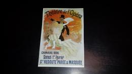 C-27657 VIEILLES AFFICHES 1800 1900 THEATRE DE L'OPERA CARNAVAL 1896 REDOUTE PAREE & MASQUE PUBBLICITA - Advertising