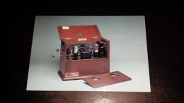 C-27681 BOLOGNA PALAZZO DEL RE RADIORICEVITORE MARCONIPHONE V2A RADIO DEL 1922 - Bologna