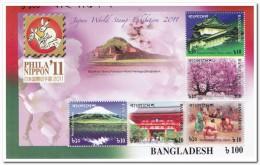 Bangladesh 2011, Postfris MNH, Phila Nippon '11 - Bangladesh
