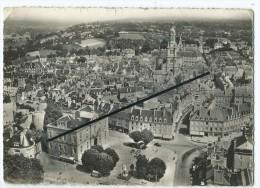 CPM  Abîmée - En Avion Au Dessus De...Avranches - L'Hôtel De Ville Et La Place Littré