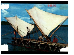 Wallis Et Futuna Pirogue Sur Le Lagon - Wallis Et Futuna