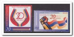 Nagorno Karabaki 2011, Postfris MNH, Independence Day - Postzegels