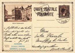 Ganzsachen-Postkarte Prifix-Nr. 104 Bild Echternach - Entiers Postaux