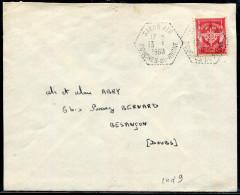 FRANCE - TIMBRE DE FRANCHISE N° 12 OBL. SALON AIR LE 13/1/1960 - TB - Franchise Militaire (timbres)