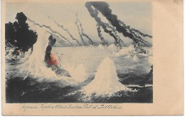 JAPON - Japanese Torpedoes Attack Russian Fleet At Port Arhur - Non Classés