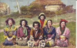 """GROUP OF AINOS. RAPHAEL TUCK & FILS: """"LES JAPONAIS CHEZ EUX"""" - Otros"""