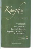 X 3 CARTE IN COFANETTO DELLE AREE NATURALI SICILIA USTICA SERRE DI CIMINNA CEFALA DIANA CHIARASTELLA ORLANDO EDITORE - Carte Stradali