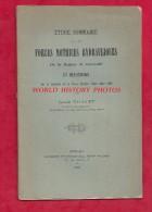 Etude Ancienne De 1891 - GRENOBLE , Isère - Forces Motrices Hydrauliques Par Louis BRAVET -  Chartreuse Vercors Villars - Historical Documents