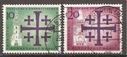 Berlin 1961 - Michel 215/216 Gest. - Gebraucht