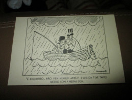 Postcard Carte Postale Churchill Roosvelt Prince Os Wales - Documents