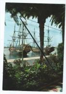 CPM - Alicante - Esplanade D´Espagne Et Caravelles (bateaux) - Espagne
