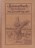 Heimatbuch Für Den Bezirk LEONBERG Von J. Binder 1924, Mit über 60 Abbildungen - Alte Bücher