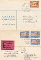 SCHWEIZ  900-901, Auf 2 Postkarten, Europa CEPT - Suisse