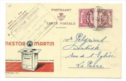 Publibel Obl. N° 771 ( Nestor Martin, Cuisines électrique) Obl: Kokside 24/12/1948 - Entiers Postaux