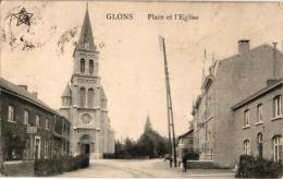 3 CP  Glons     Les Abords Du Pont De St Pierre         Place         Villa Palante - Fexhe-le-Haut-Clocher