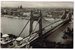 Ungarn 1931, Budapest:Elisabethbrücke - Hongrie