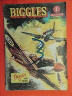 Biggles  N°18  Artima Aredit 1967 Petit Format Bon état - Biggles