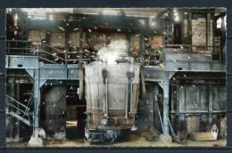 LE CREUSOT . LES FORGES . Une Coulée D'acier . Voir Recto Verso    (N583) - Le Creusot