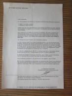 Association Amicale Anciens élèves Du PRYTANEE National Militaire Brution Capitaine Sancerni Précédent Conseil Administr - Documents