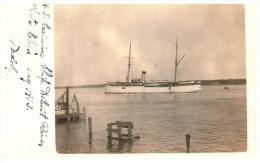 3127 MI Detroit  U.S. Training Ship In Detroit River   RPC - Warships
