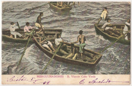 S. Vicente - Mergulhadores - Costumes - Pesca - Cabo Verde - Cape Verde - Cap Vert