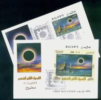 EGYPT / 2006 / Solar Eclipse / FDC - Storia Postale