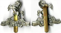 Insigne BRITANIQUE Royaume Unis - Cap Badge ROYAL KENT WEST - Landmacht