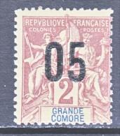 GRAND COMORO  20   * - Great Comoro Island (1897-1912)