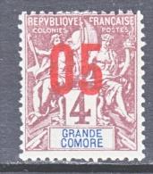 GRAND COMORO  21  * - Great Comoro Island (1897-1912)