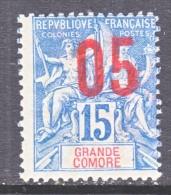 GRAND COMORO  22  * - Great Comoro Island (1897-1912)