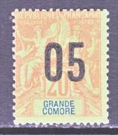 GRAND COMORO  23  * - Great Comoro Island (1897-1912)