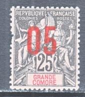 GRAND COMORO  24  Fault  * - Great Comoro Island (1897-1912)