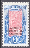 FRENCH  MIDDLE  CONGO  50  * - French Congo (1891-1960)