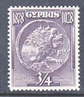 CYPRUS  114  *  Wmk 4 - Cyprus (...-1960)