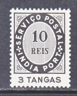 PORTUGUESE INDEA  522  * - Portuguese India