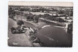 CPSM 53 - DAON - Vue Aérienne - Barrage Sur La Mayenne - INDUSTRIE - B PLAN Des Bâtiments - Other Municipalities