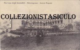 3-4057- Abbiategrasso - Pia Casa Degli Incurabili - Sezione Ragazzi - 1915 + Annullo - Milano - F.p. Viaggiata - Milano