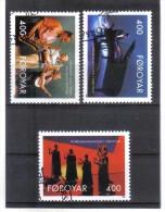 BIN529  FÄRÖER INSELN 1993  Michl  243/45  Used / Gestempelt - Färöer Inseln