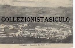 3-4059- Tolmezzo Panorama Dal Monte Strabut - Udine - F.p. Viaggiata Da Verzegnis (tondo Riquadro) 1915 - Udine