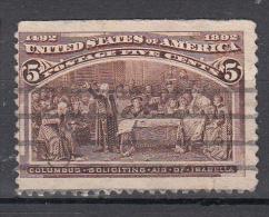 USA 1893 Mi Nr 77 Ontdeking Amerika Door Columbus - 1847-99 Algemene Uitgaves