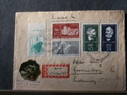 51/074     LETTRE  1958 - DDR