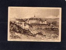 """51346     Regno  Unito,   Fondation De L""""Abbaye N.-D. De Scourmont A Caldey,  Vue Generale  Du  Monastere,  NV - Pembrokeshire"""